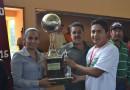 Final del torneo municipal de fútbol rápido